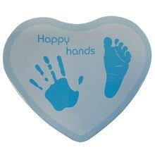 Odcisk dłoni Happy Hands - Heart Blue