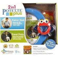 Potette Plus travel potty Green